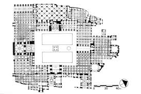 floor plan of mosque masjid jami u0027 i isfahan mit libraries