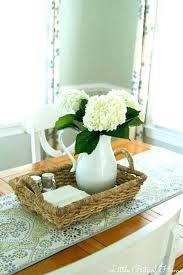 kitchen table setting ideas clever design table centerpiece ideas decoration dining room