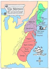 Delaware Map Usa by Thirteen Colonies Map 3rd Quarter Student Teaching Pinterest
