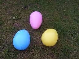 large plastic easter eggs bloomers easter on parade