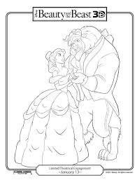 256 beauty beast coloring pages images