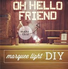 light up letters diy hello diy marquee light oh hello friend