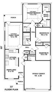 European Floor Plans by Small Bungalow European House Plans Home Design Su1638 8258