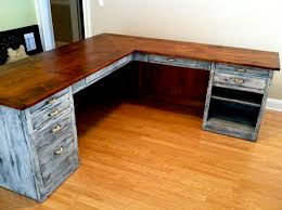 Build A Desk With Drawers Best 25 Rustic Desk Ideas On Pinterest Rustic Office Wooden