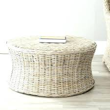 Wicker Storage Ottoman Coffee Table Wicker Storage Ottoman Coffee Table Wicker Coffee Table Storage