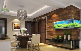 Dining Room Ceiling Modern Minimalist Style Dining Room Wall And Ceiling Decoration 3d