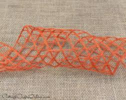 wired ribbon 2 1 2 navy blue burlap ten yard roll
