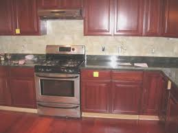 Kitchen Decorating Ideas For Countertops Kitchen Amazing Cherry Kitchen Cabinets With Granite Countertops