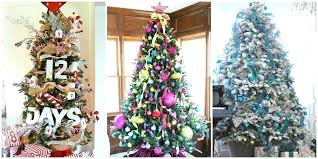 Christmas Tree Decorating Themes Most Creative Kids Trees Avengers