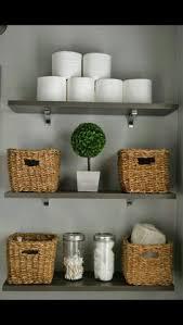shelves in bathrooms ideas installing ikea ekby shelves in the bathroom of frugal homemaker