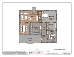 architecture 1494 sq feet small home open floor plan with an open