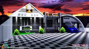 3 Bedroom Contemporary Design 3 Bedroom Contemporary 1600 Sq Ft Home Kerala Home Design