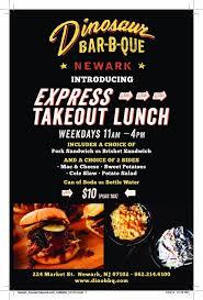 bbq catering for newark nj by dinosaur bar b q locations