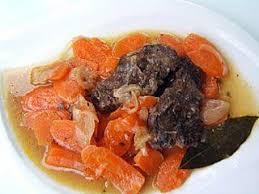 cuisiner de la joue de boeuf recette de joues de boeuf aux carottes
