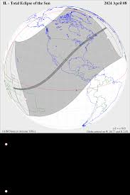 Cst Time Zone Map by 2024 April 8 Total Solar Eclipse