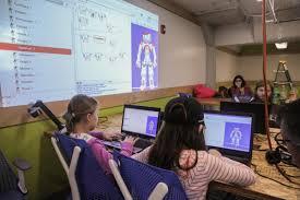 fresno area kids get an up close look at u0027smart u0027 robots valley