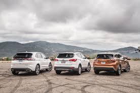 lexus rx400h vs bmw x3 comparison 2015 ford edge vs nissan murano vs hyundai santa fe
