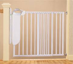 Best Gate For Top Of Stairs With Banister Evenflo Home Decor Stair Gate Finest How To Use Retractable