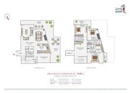 podium floor plan park gate residence wasl asset management group zabeel park
