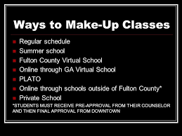 online make up classes to graduation and beyond ppt