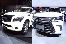 infiniti ex vs lexus rx top biggest nissan u0026 infiniti suvs 2016 2017 model infiniti qx80