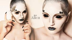 Halloween Make Up Tutorials 2014 The Alien Youtube