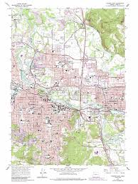 map of oregon eugene eugene east topographic map or usgs topo 44123a1