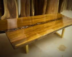 Slab Coffee Table by Live Edge Table Etsy