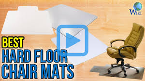 Office Chair Mat For Laminate Floor Top 7 Hard Floor Chair Mats Of 2017 Video Review