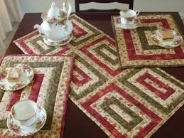 decorations beautiful quilted table runners design ideas table