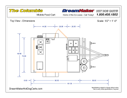 Floor Plan Of Kitchen With Dimensions Columbia Cart Drawings Dreammaker Dog Carts