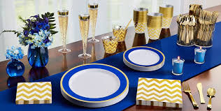 royal blue and gold baby shower decorations royal blue tableware royal blue party supplies party city