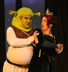 shrek musical rose theater