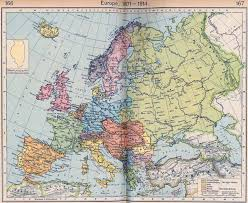 Europe Map During Ww1 Maps A Map Of Europe In 1914