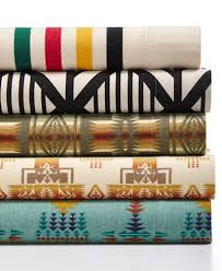pendleton cotton flannel sheet sets sheets pillowcases bed