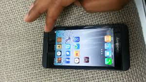 themes mobile black berry ios 6 1 running on blackberry 10 youtube