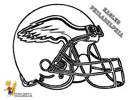 picturesque design nfl color pages philadelphia eagles helmet at