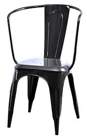 Tolix Bistro Chair Industrial Tolix Carver Side Chair Side Chairs Chairs And