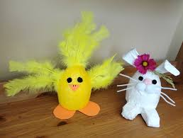 easter crafting with your kids duck tape easter bunny and