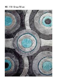 Gray Blue Area Rug Black And Turquoise Area Rugs Area Rug Living Shag Grayblue Inside