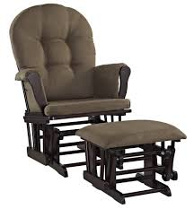 April Joy Home Decor And Furniture Amazon Com Angel Line Windsor Glider And Ottoman Set Espresso