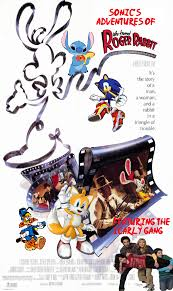 adventures of rabbit image sonic s adventures of who framed roger rabbit poster jpg
