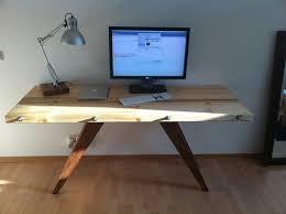 bureau bois foncé meuble bureau industriel et bureau mural diy en 63 idées