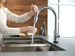 kohler sensate touchless kitchen faucet delta moen lowes