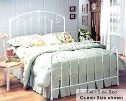 white rod iron headboard medium size of bedroom cast bed twin