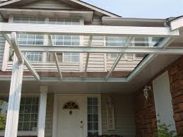 Roof Trellis Clear Roofs Non Insulated Sepio Weather Shelters