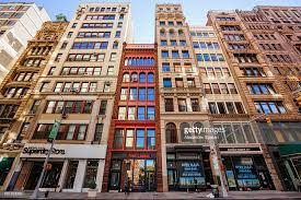 residential buildings in tribeca district nyc stock photo getty
