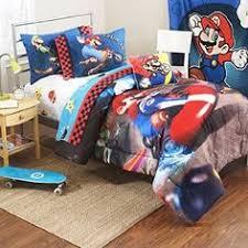 Mario Bros Bed Set Mario Brothers Mario Kart Wii Comforter Set Bed Bath