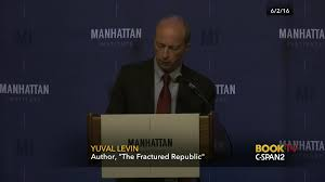 yuval levin talks about our fractured republic c span org
