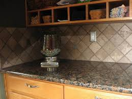 tumbled marble kitchen backsplash awesome granite countertops team up with shaped tumbled